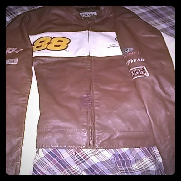 chase authentics by jh design Jackets & Blazers - 88 Dale Jarrett leather jacket